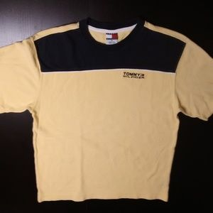 Tommy Hilfiger Vintage 90s Crew Neck Shirt Medium